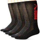Puma Socks Men's Logo Crew Socks (Pack of 6)