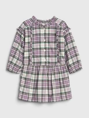 Gap Toddler Ruffle Plaid Dress