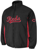 Majestic Men's Cincinnati Reds Double Climate On-Field Full-Zip Jacket