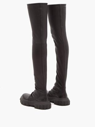 Rick Owens Bozo Thigh-high Boots - Black