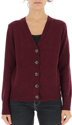 Ganni V-Neck Knitted Cardigan