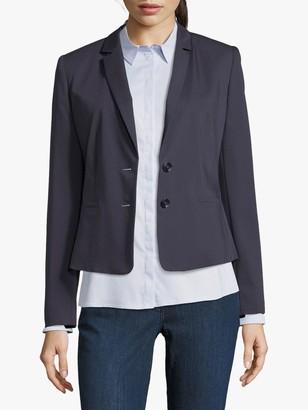 Betty & Co. Short Tailored Blazer, Dark Sapphire