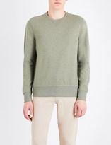 Michael Kors Crewneck stretch-cotton sweatshirt