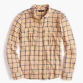 J.Crew Boyfriend shirt in topaz plaid