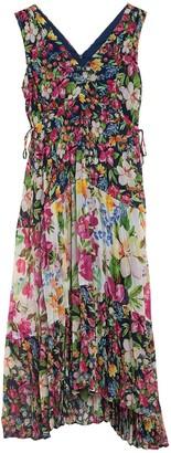 Taylor Mixed Floral Chiffon Maxi Dress (Petite)