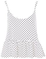 Topshop Pinspot casual camisole top