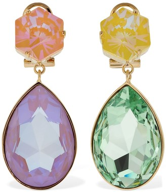 Shourouk Pastel Multicolor Drop Earrings