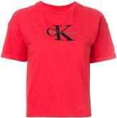 Calvin Klein - logo print T-shirt