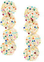 Rosantica embellished long earrings