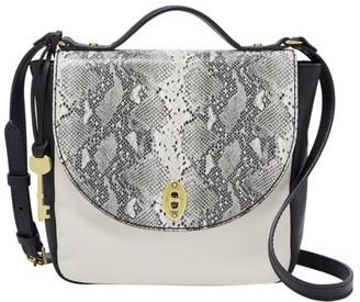 Fossil Vintage Classic Crossbody Handbags Grey/Black