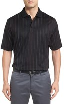 Bugatchi Mercerized Cotton Stripe Polo