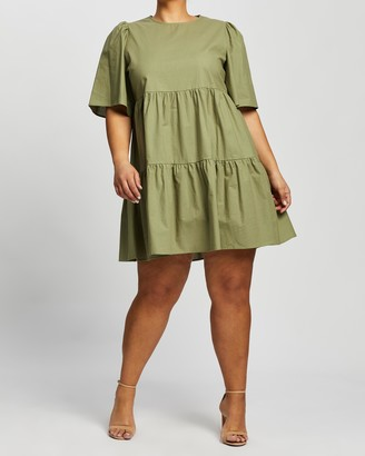 Atmos & Here Amora Cotton Mini Dress