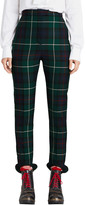 Burberry Ss18 Check Wool Twill Pants
