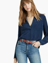 Lucky Brand Washed Popover Tunic
