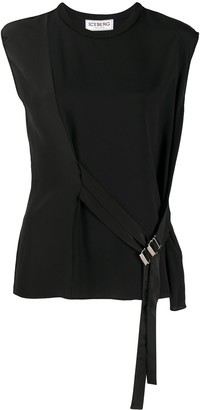 Iceberg Panelled Buckled-Strap Tank Top