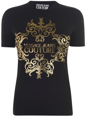 Versace Baroque Logo t Shirt