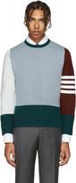 Thom Browne Multicolor Cashmere Funmix Pullover