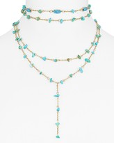 BaubleBar Mitra Y Choker Necklace, 12