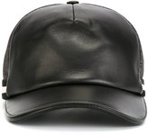 Bally classic baseball cap - women - Cotton/Lamb Skin/Polyamide/Polyester - 58