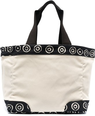 10 Corso Como Spiral-Trimmed Tote Bag