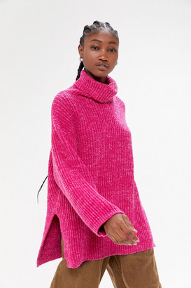 Urban Outfitters Tatum Turtleneck Tunic Sweater