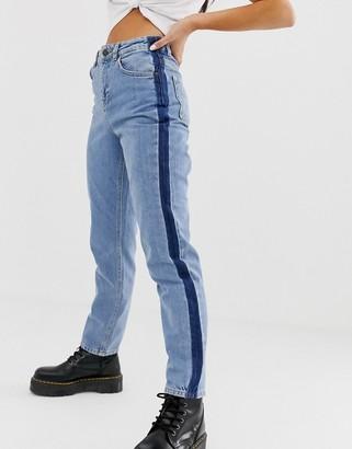 Noisy May straight leg blue jeans