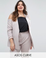 Asos Cold Shoulder Blazer