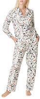 Kate Spade Two Piece Printed Pajama Set