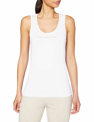 Emporio Armani Women's Visibility - Basic Cotton Tank Vest
