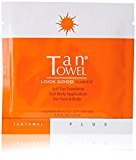 TanTowel Tan Towel Self Tan Towelette Plus 5 Count (Packaging may vary)