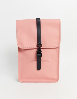 Rains coral backpack in coral