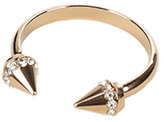 Vita Fede Ultra Titan Crystal Ring Gold/Clear