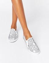 Gola Azalea Print Slip On Sneaker