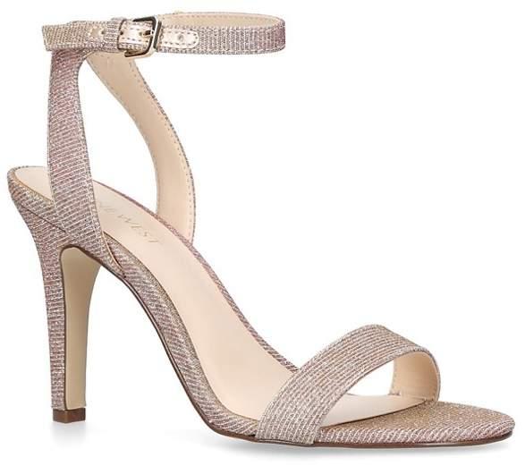 Nine West - Gold 'Aniston' High Heel Sandals