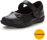 Clarks Younger Girls Nibblessam Strap School Shoes Width Sizes Available
