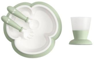 BABYBJÖRN Feeding Set Powder Green