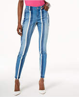 INC International Concepts I.n.c. Curvy-Fit Striped Skinny Jeans, Created for Macy's