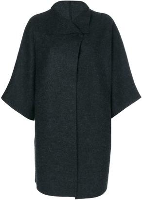 Harris Wharf London oversized cape jacket