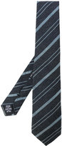 Giorgio Armani woven stripe tie