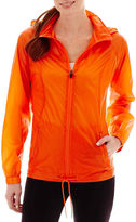 JCPenney Xersion Neon Shadow Woven Water-Resistant Jacket
