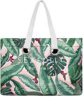 Seafolly Carried Away Palm Beach Eyelet Tote