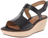 Clarks Women's Hazelle Amore Wedge Sandal