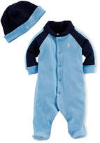 Ralph Lauren Two-Piece Cotton Footie Set