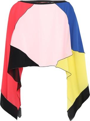 Missoni Mare Color-block Silk-georgette Coverup
