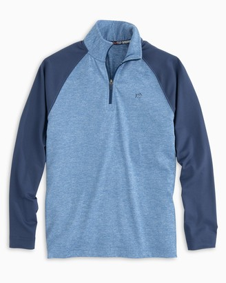 Southern Tide Boys Windjammer Performance Quarter Zip
