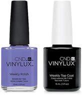 CND Creative Nail Design Vinylux Wisteria Haze Nail Polish & Top Coat (Two Items), 0.5-oz, from Purebeauty Salon & Spa