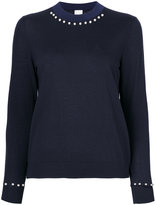 Paul Smith pearl embellished jumper