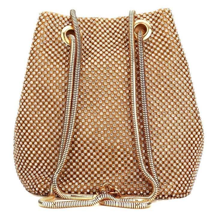 0661f6cc727f Vistatroy Clutch Bag, Women Evening Bag with Sparkly Crystal Rhinestone  Elegant Clutch Purse Bag Handbag with Chain Shoulder Straps