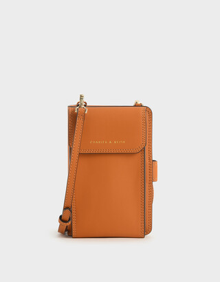 Charles & Keith Elongated Pouch Wallet
