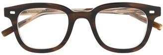 Eyevan 7285 Tortoiseshell-Effect Square Glasses
